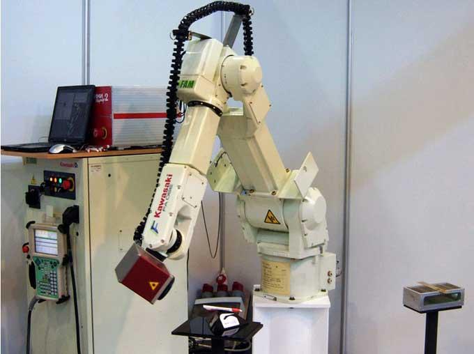 Использование роботов манипуляторов на производстве