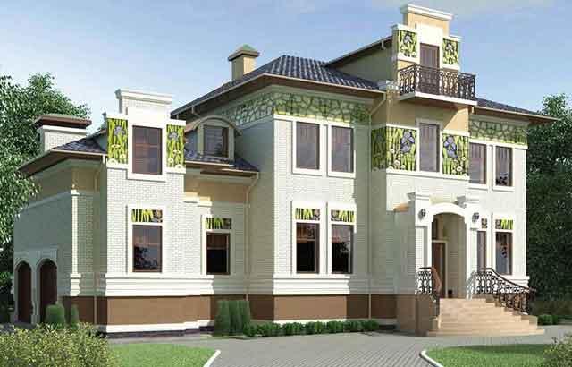 фото фасада красивого дома