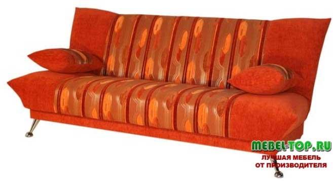 фото красивого красного дивана для дома