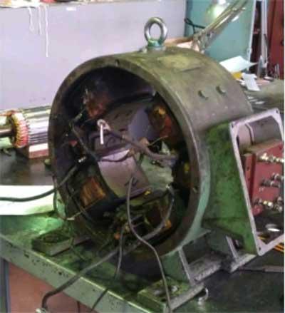 Ремонт тяговых электродвигателей -; дополнительный срок эксплуатации техники