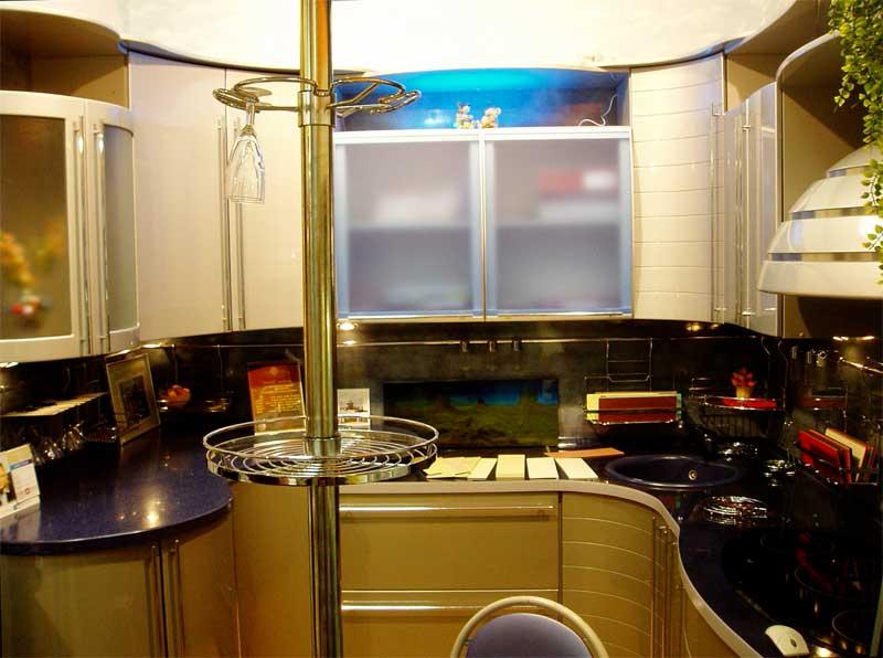 Фото ремонта кухни 6 м. кв. - ремонт шестиметровой кухни