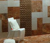 фото панно из мозаики в ванной комнате
