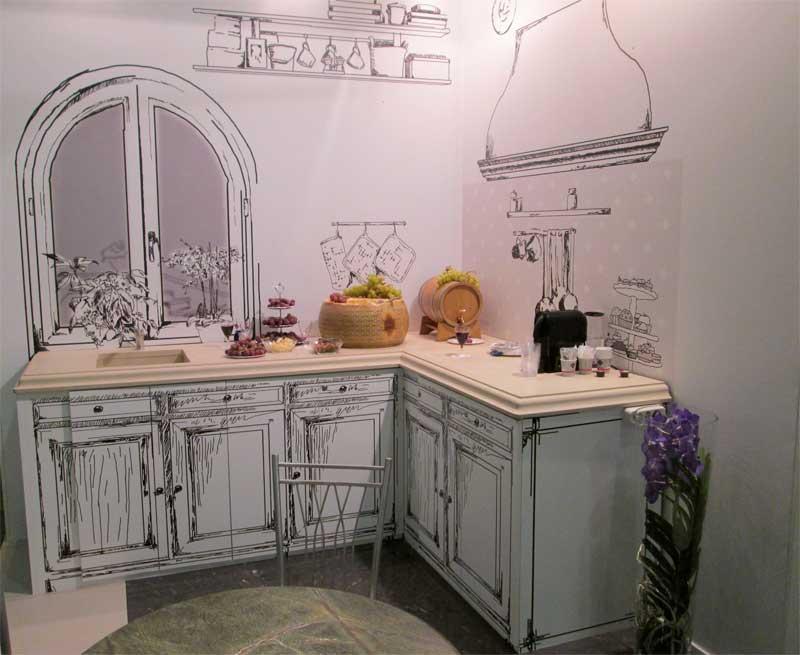 Фото переделки кухни - покраски шкафов на кухне