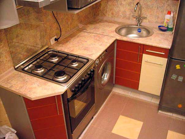кухонные шкафы на маленькой кухне