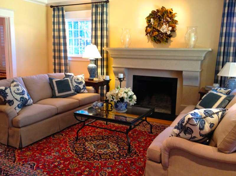 цвета гостиной в стиле прованс