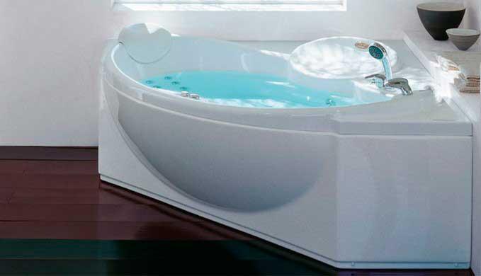 вид гидромассажной ванны в доме