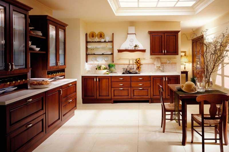 фото кухни итальянского производителя aran