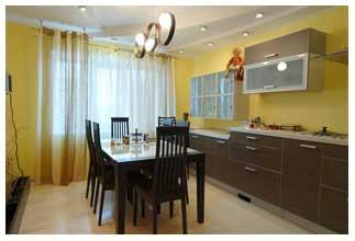фото завершенного поэтапного ремонта кухни