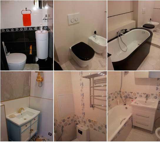 фото ремонтов ванных комнат
