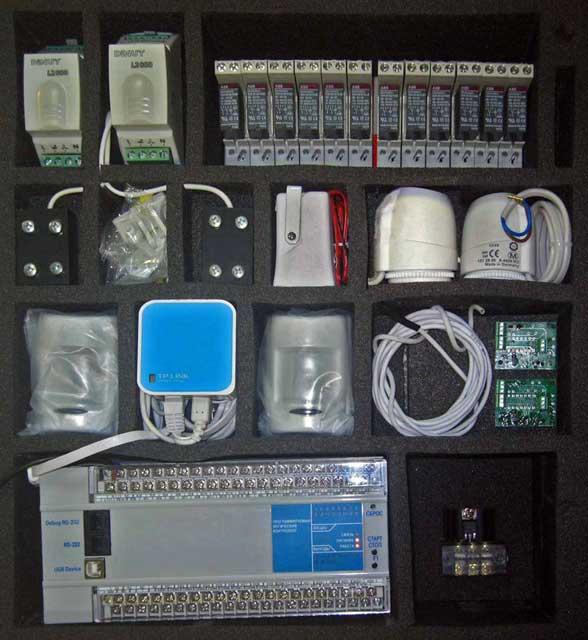 Оборудование умного дома и его состав