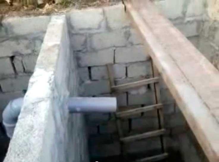 Как делается сливная яма в частном доме