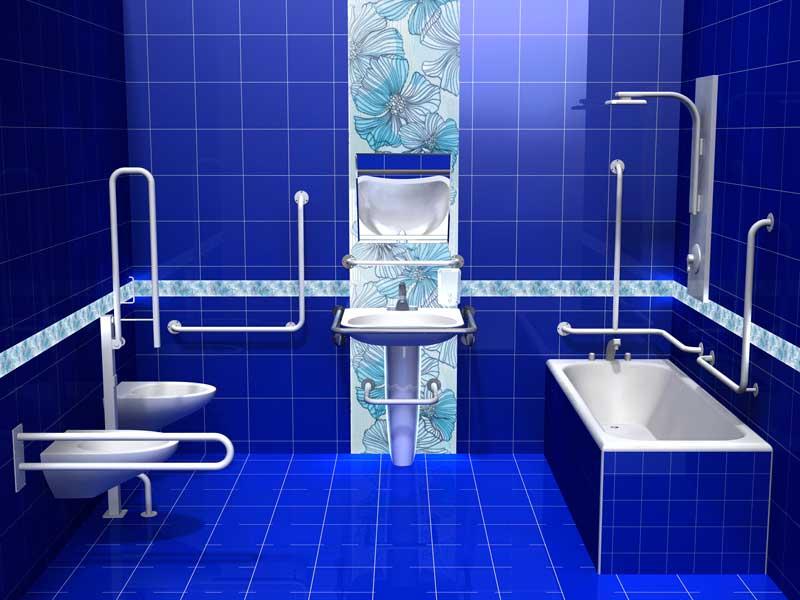 оборудование ванной комнаты для людей с ограниченными возможностями