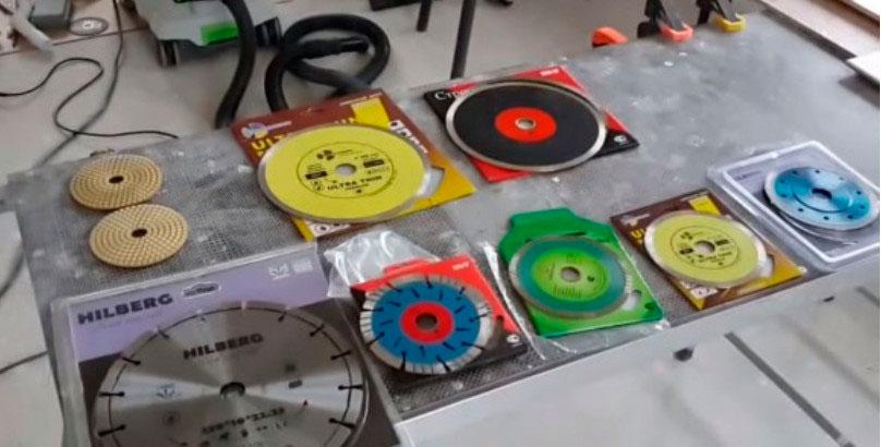 Алмазные диски по бетону, по железобетону, для резки плитки