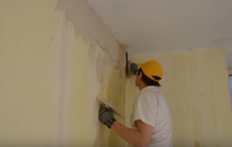 штукатурка монолитных стен технология
