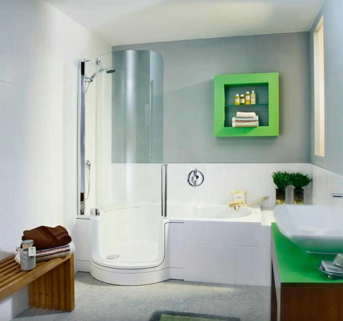 вариант ванной комнаты