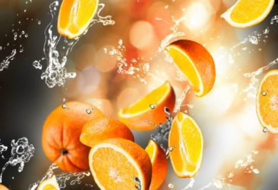 фотообои - апельсины