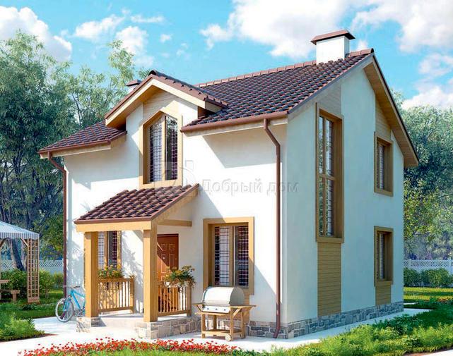 дом по индивидуальному проекту