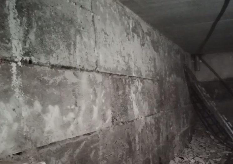 фото стены подвала