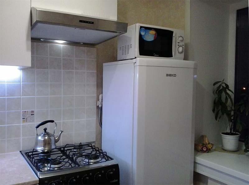 микроволновка встроенная в кухонный гарнитур