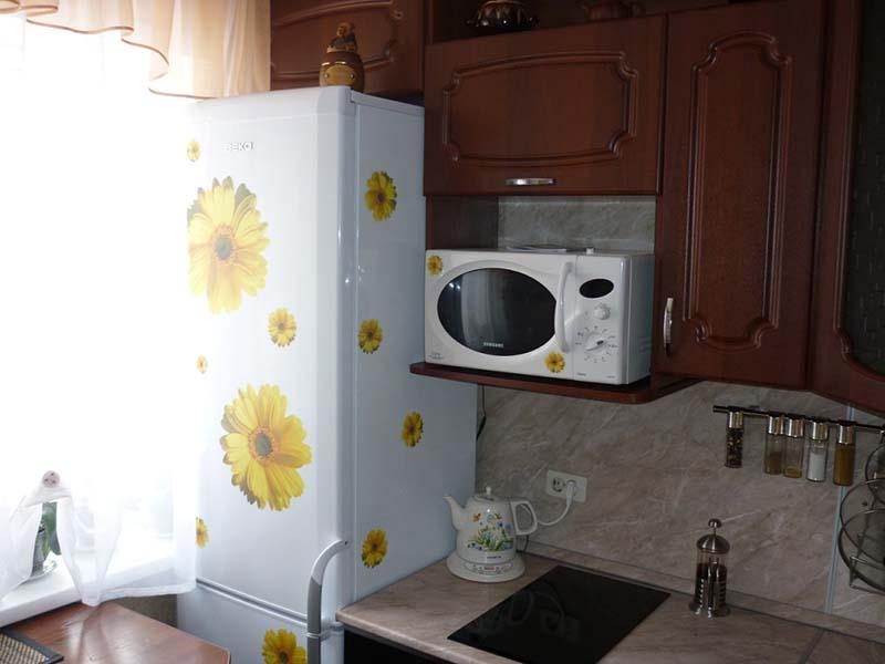 как встроить обычную микроволновку в кухонный гарнитур