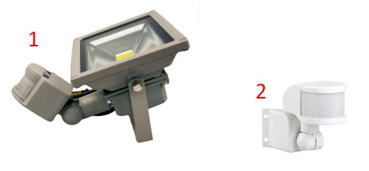 датчик движения для прожектора