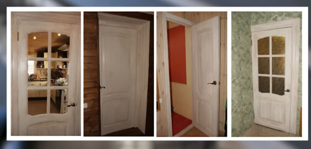 фото ремонт дверей