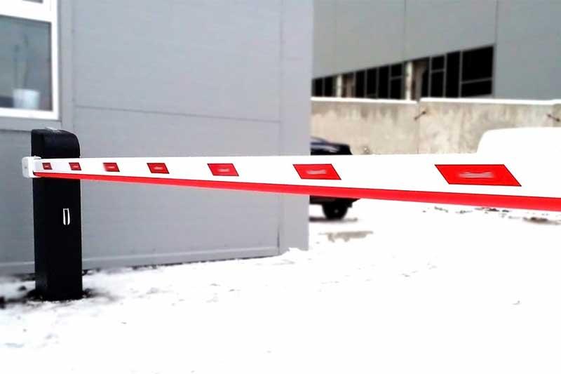 шлагбаум для офисной парковки