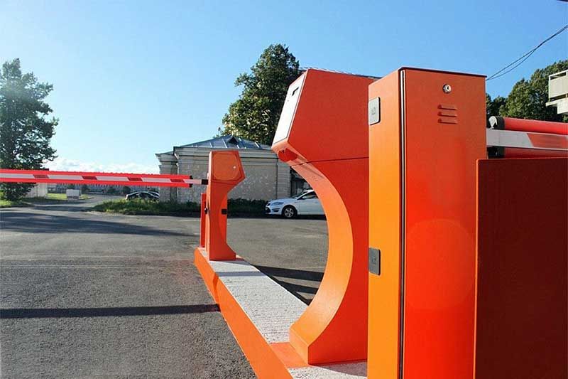 автоматический шлагбаум для парковки