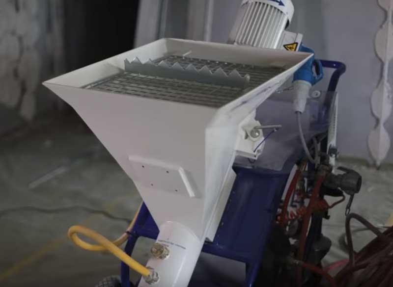 оборудование для нанесения штукатурки