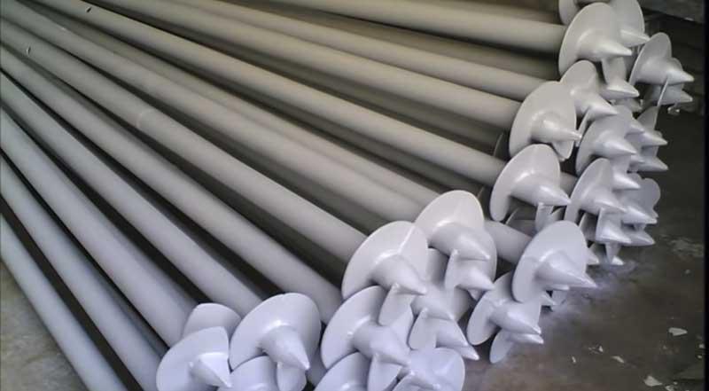 металлические винтовые сваи