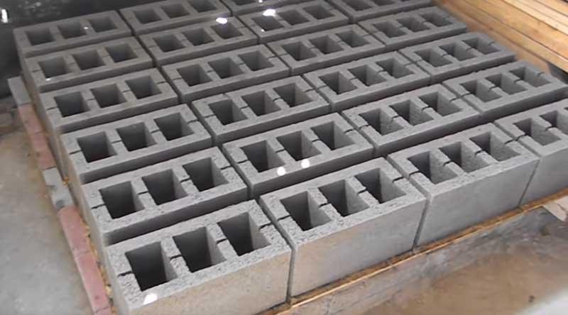 Крупные блоки стеновые