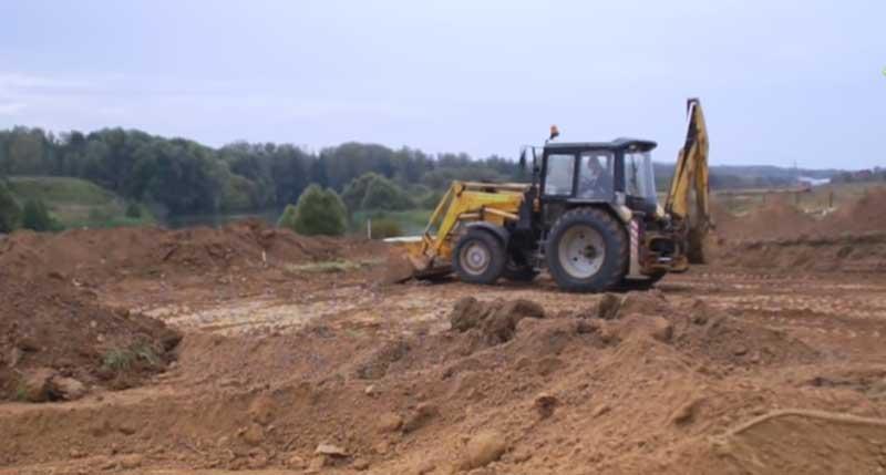 производство земляных работ