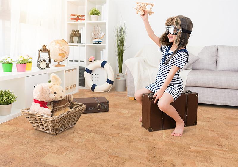 пробковый пол фото в интерьере детской