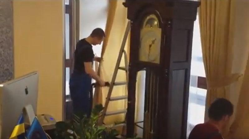 химчистка штор с выездом на дом