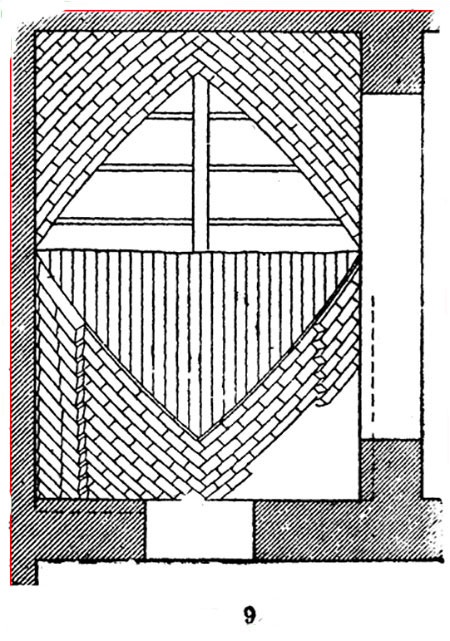 схема кладки в елку