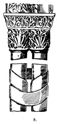 колонна с орнаментом