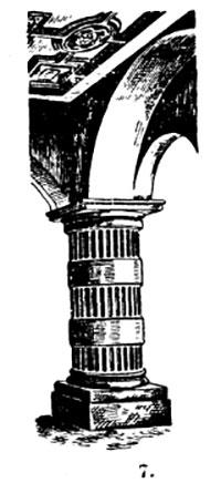 колонна из Греции