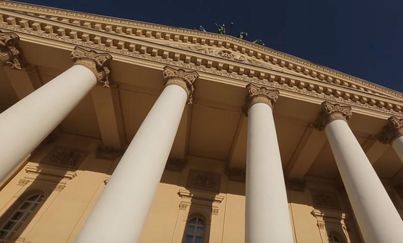 круглые колонны фото