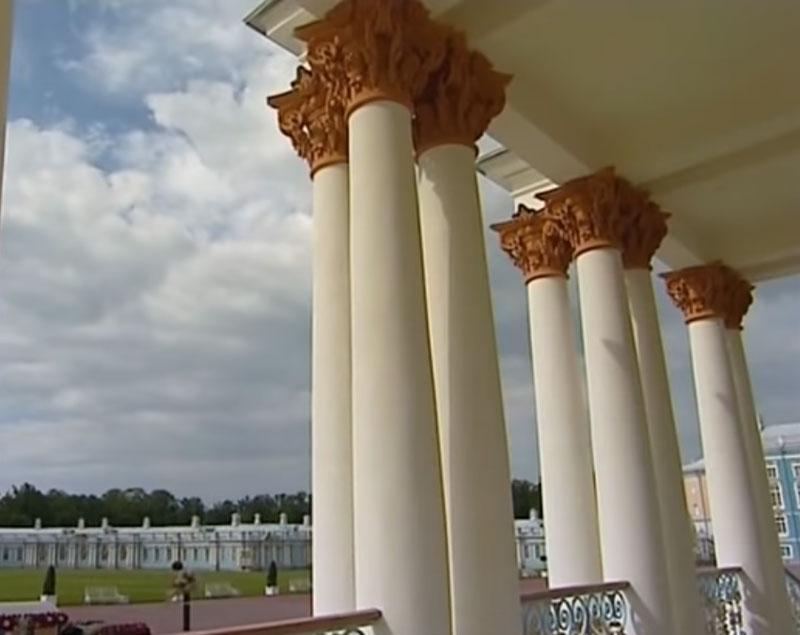 фото колонны русской архитектуры