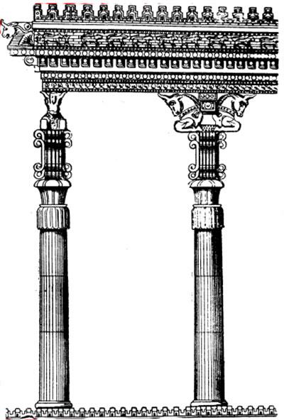 Колонны в Месопотамии фото