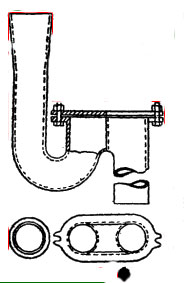 Внутренняя канализация, санитарные приборы, приемники