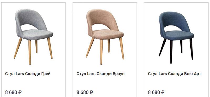 фото мягкие стулья для кухни