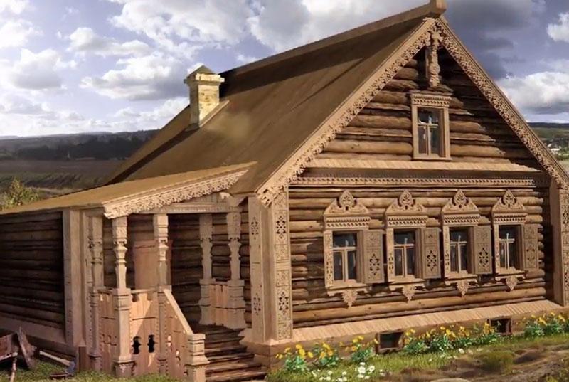 русские жилища