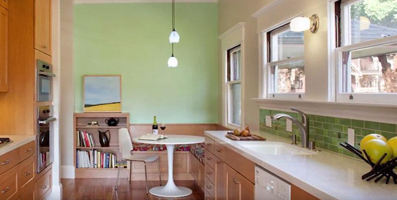 Кухонные уголки для кухни со столом