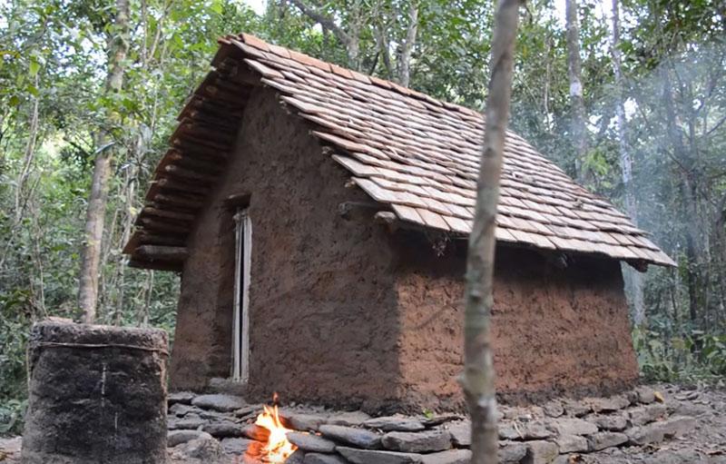 первобытное жилище древних людей