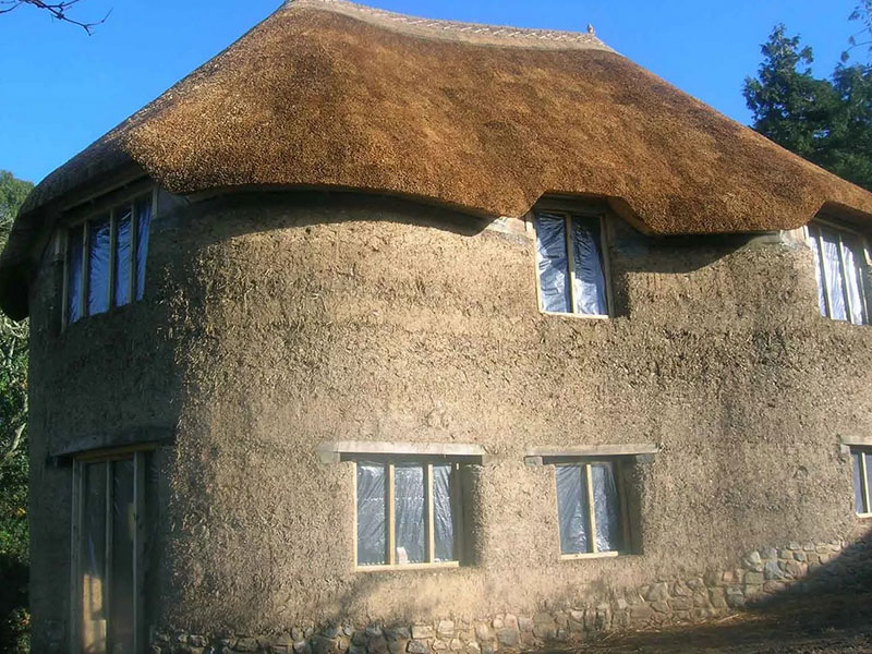 дом из грунтоблоков