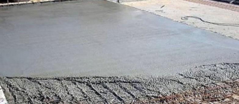 подогретая бетонная смесь