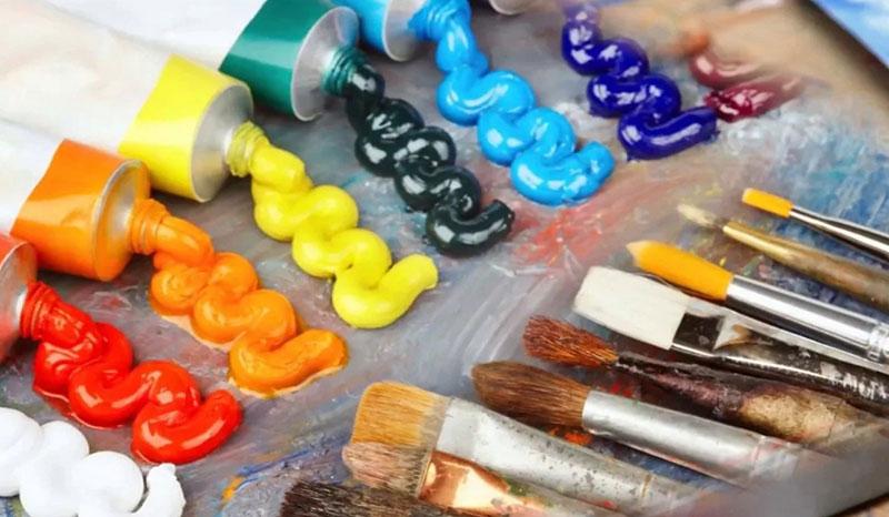 основа эмалевой краски