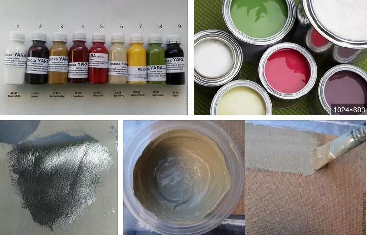 водная пастозная краска на казеиновом связующем