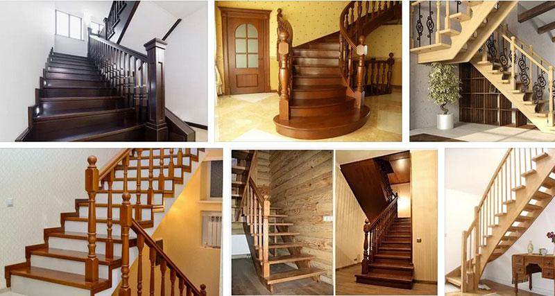 выбор лестницы из дерева